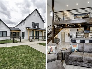 Modern Industrial Farmhouse - 2019 Missoula Parade of Homes Winner