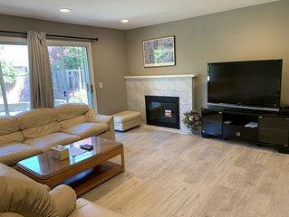 Beautiful, remodeled home near Santa Clara Levi Stadium and Convention Center