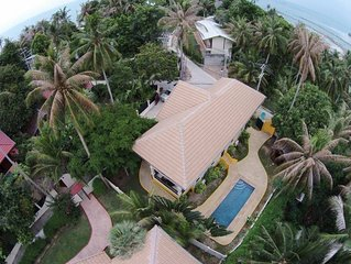 3 Bedroom Seafront Bay View Villa - Koh Phangan