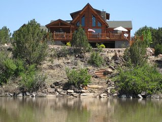 Waterfront Show Low Home on Private Lake w/ Deck!