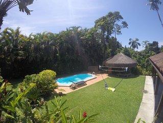 Porto Barlavento- Paraíso com 3 quartos, piscina, sauna, quiosque e jardim 2000m