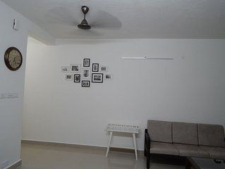 Fully furnished brand new apartment will all pre-requisites of a modern home.