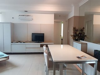 Newly renovated and nice 2 bedroom apartement in the heart of jakarta