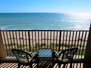 Enjoy Gorgeous, Oceanfront Views From This Beautiful 2/2 Condo on the 6th Floor!
