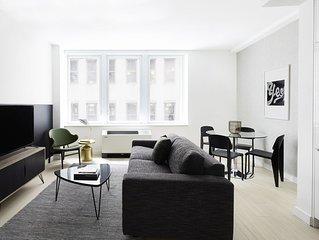 Sonder | Stock Exchange | Modern 2BR + Sofa Bed