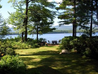 Squam Lake, stunning views, private peaceful retreat
