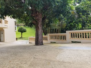 Rain forest retreat, gated and fenced in private 2 story home