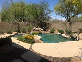 Gorgeous 4 bedroom plus den family home in North Phoenix