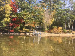 Beautiful views with Moultonboro Waterfront home  on Lake Winni- PET Friendly