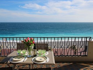 New on the market !Fantastic Seaview ! Chic apartment with terrace