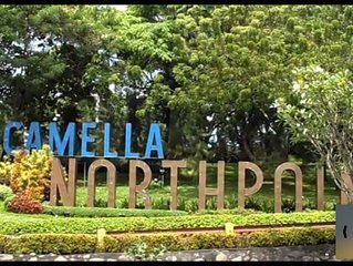 1BR/ST Camella North Point condo with free WiFi and Netflix