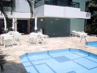 Apartamento Riviera de São Lourenço- até 4 pessoas - 1 suite