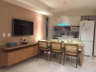 Apartamento Itacimirim - 3 Quartos, 2 Suites - Ideal para ate 6 Pessoas