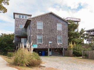 Blue Heaven - Fresh 4 Bedroom Oceanfront Home in Avon