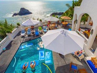 #1 Homeaway Guest Satisfaction. Prime location, unubstructed ocean views