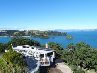 Kennedy Point Hilltop House - Stay Waiheke