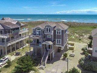 Brownbeard's - Upscale 5 Bedroom Oceanfront Home in Waves