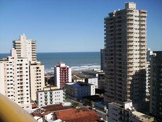 Apto Piscina liberada PREDIO LUXO ALTO PADRAO  Praia Grande - Vila Tupi