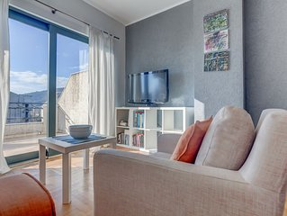 Apartment With City and Sea Views
