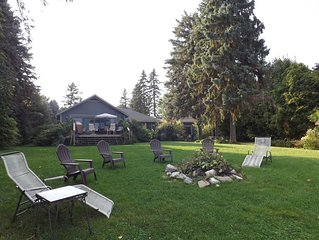Blue Spruce Lakefront Retreat- Renew your energy, recharge your spirit.