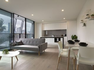 Brand new stylish apartment at the heart of South Melbourne