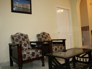 3 BHK Beautifully Furnished Apartment with Kitchen and attached Bath rooms.
