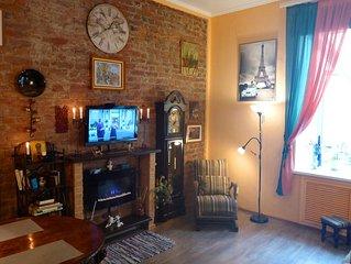 Small&cozy 'Orange'apartment in the city center