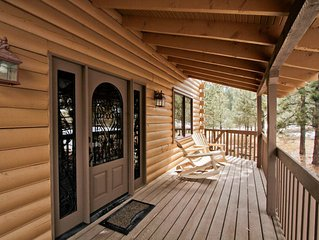 2 Beautiful Cabins Located on 40 acres