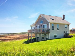 PEI Beach House, Our Ocean Front Vacation Home on a Large Quiet Sandy Beach