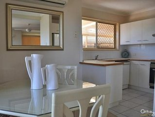 Redcliffe Central location walk to Water & Restaurants