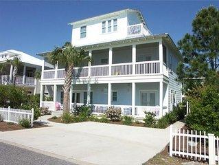 CATCH THE WAVE beach house * Seagrove Beach Florida in the Gulf Mist Community