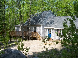 Peaceful 2+ BR home near Saco River, NH White  resorts