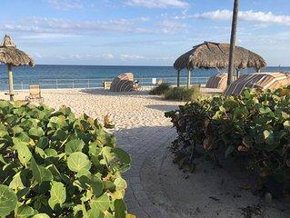 Beach front home | 1 Bedrm Villa | Sleeps 3 | Kitchen | Resort Amenities