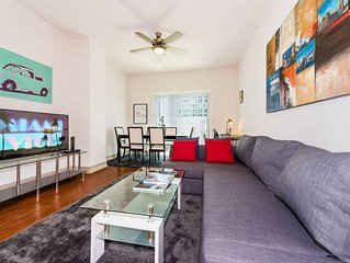 (CD3)  - #1 Miami Location | Relaxing 2BR/2BATH Highrise Penthouse ★ Walk Score