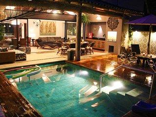 Luxuosa casa em condominio fechado de alto padrao proximo a praia de Maresias