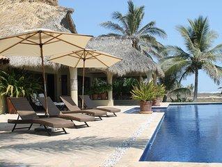 Casa Buena Vista Spectacular Beach Front Luxury Villa Resort (Chef Full Service)