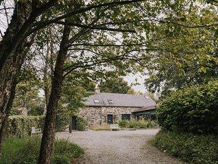 BALLILOGUE LODGE KILKENNY - LUXURY RENTAL FOR 8 IN IRELAND'S ANCIENT EEAST