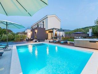Ideally Located Villa With Sea View - Adriatic Luxury Villas