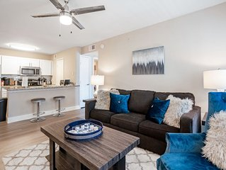 Spacious Well Equipped Med Ctr Apt - 5min Walk to NRG & MetroRAIL