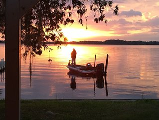Beautiful Sunsets on Lake Tarpon, Fish, Swim, Jetski and More
