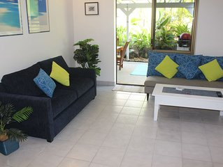 Stunning ,fully self contained ,2 bedroom apartment, just 200 metres from beach.