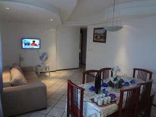 Apartamento para familia  frente pro mar