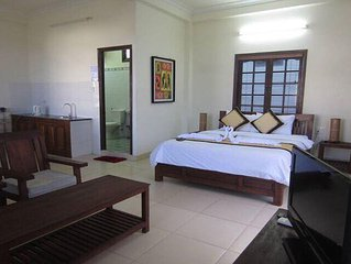 Double room --to take in the culture and sounds Hoi an