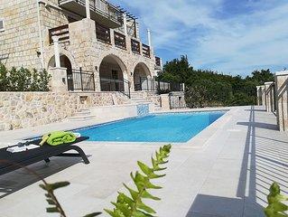 Villa Lucija,  Dubrovnik riviera new listing, pool and jacuzzi