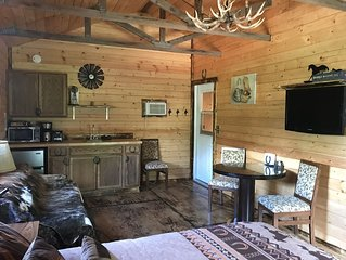 Bunkhouse On The Cattle Ranch