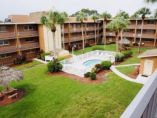 Inter coastal condo less than two miles from Indian Rocks Beach!