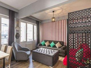 Great Location,1+1 Turkish Bath Apartment,Taksim 4