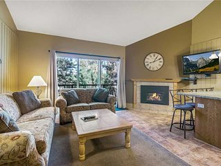 Location and Privacy in This Upper-Level Condo with Mt. Bachelor Village Ameniti