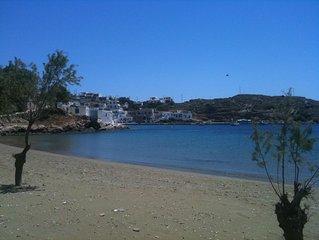 Seafront maisonette in Glyfo beach, Sifnos