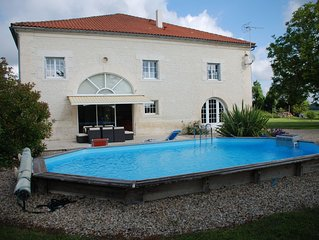Large luxury Villa located in beautiful countryside close to shops